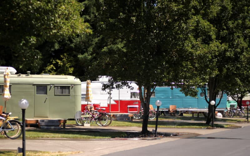 Airstream Dreams ~ The Vintages Trailer Resort, OR