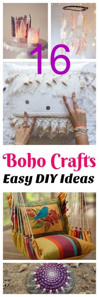 easy diy teen boho crafts