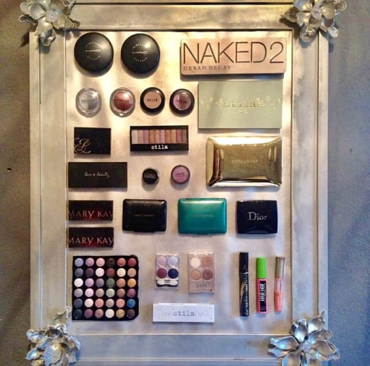 tips on how to organize your makeup