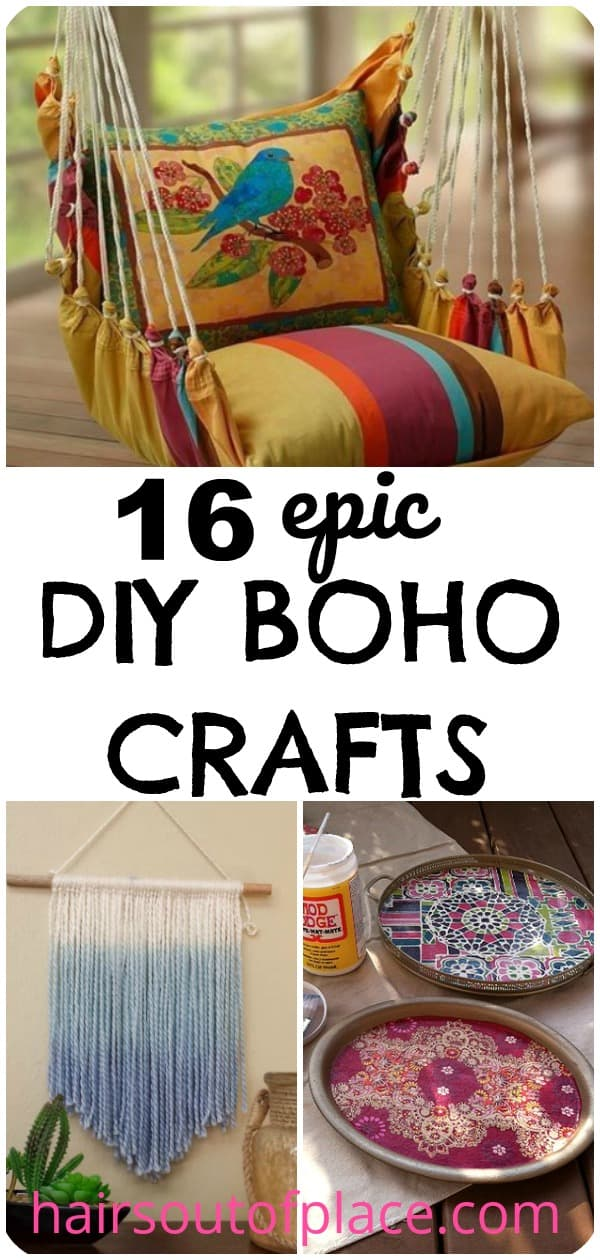 16 DIY boho craft ideas for teens