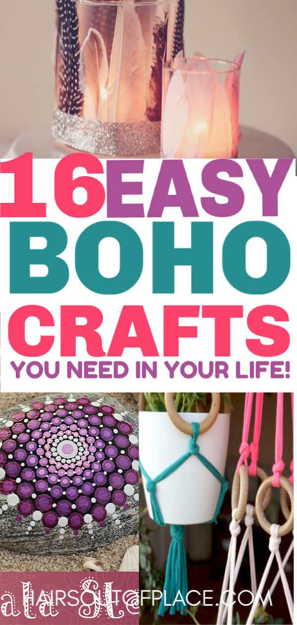 16 Diy Easy Boho Crafts For Your Boho Chic Room Hairs Out Of Place