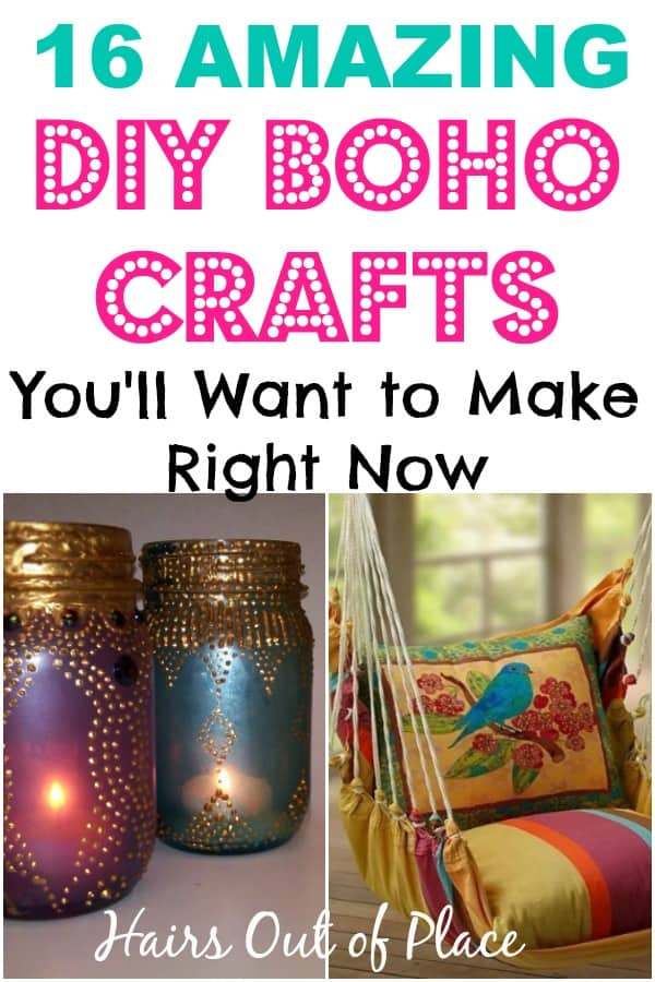 16 boho craft ideas for your bedroom