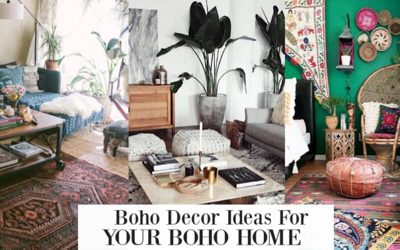 17 Boho Inspired Decorations For Your First Home