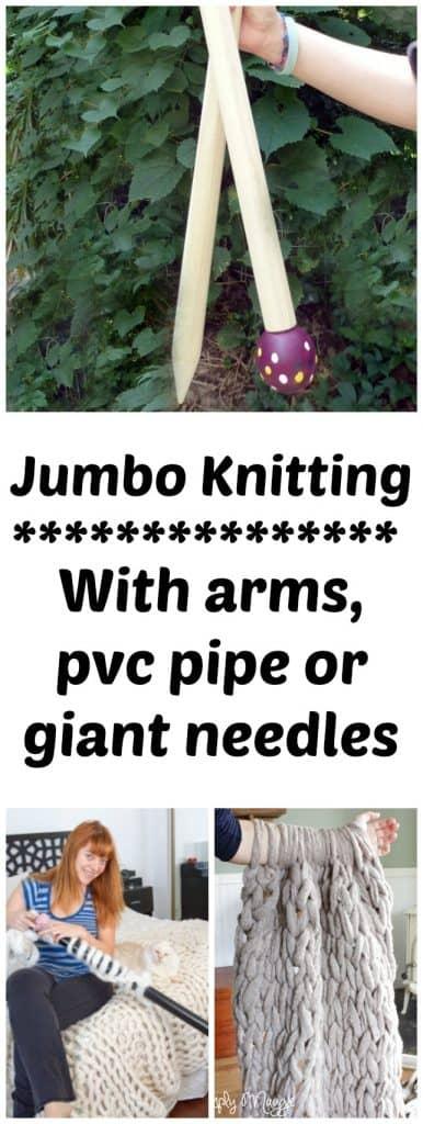 chunky knitting for beginning knitters
