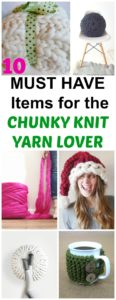 chunky knit yarn