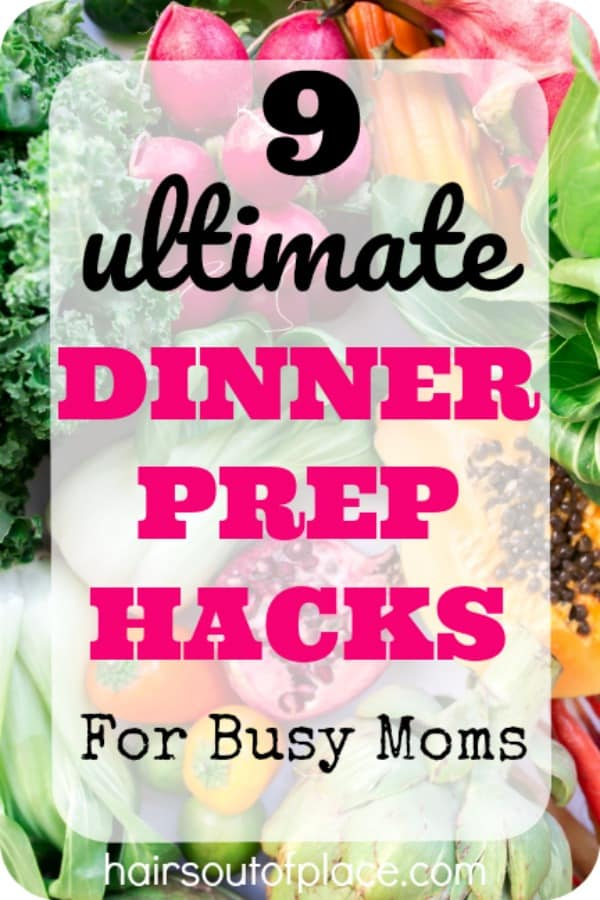 9 easy dinner hacks for busy moms