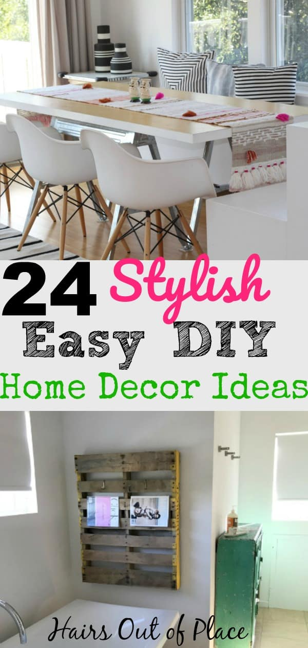 24 stunning home decor ideas when you're on a budget