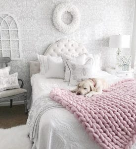 chunky knitting pattern diy throw blanket for dog