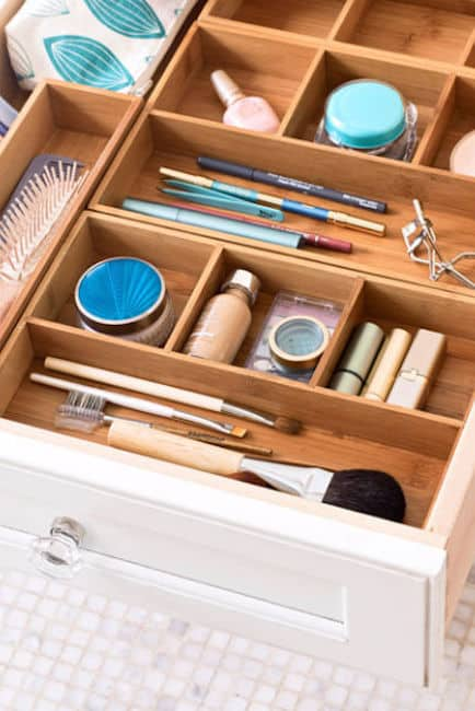 bathroom drawer storage ideas