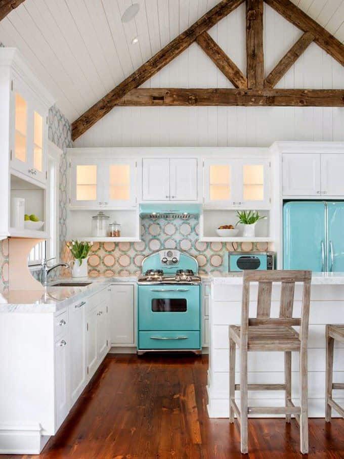 Retro Aqua Kitchen Decor Lover ~ 20 Must Have Items