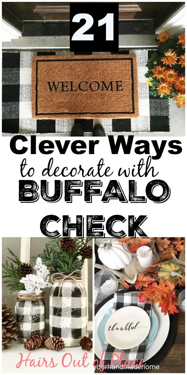 20 buffalo check decor ideas