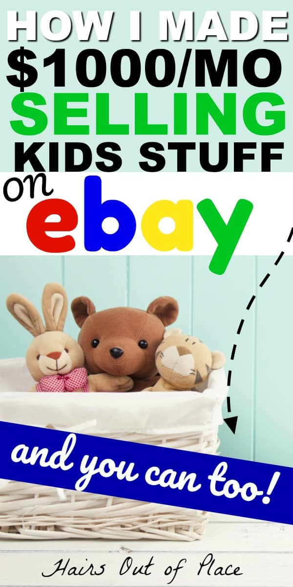 ebay selling tips to make money online