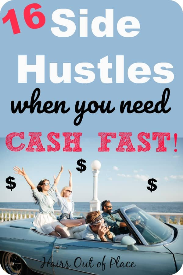 16 side hustle ideas to help you make extra cash fast