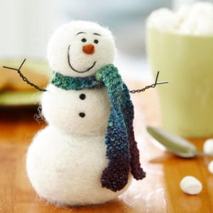 felted snowman pattern