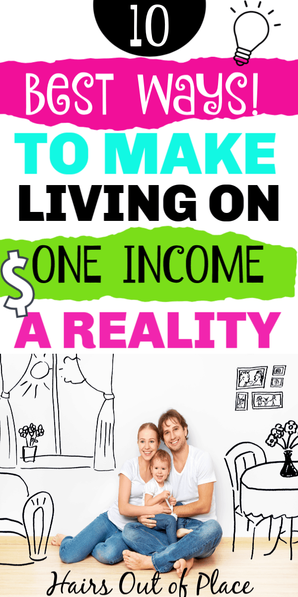 living on one low income