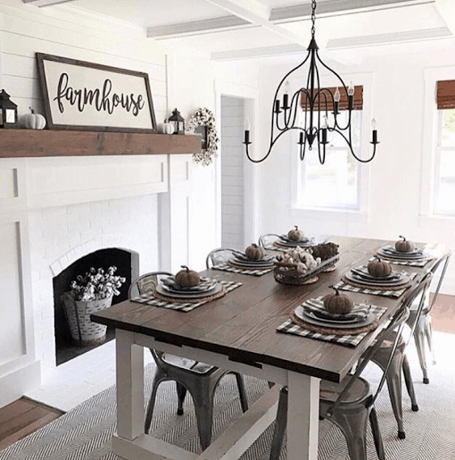 Black And White Dining Room Decorating Ideas: 20+ Ways To Decorate All Year With Black & White Buffalo Check
