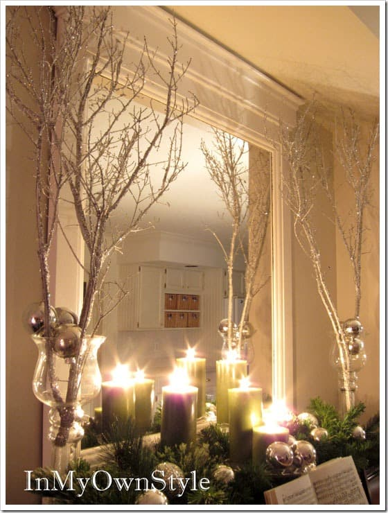 christmas sparkle branches