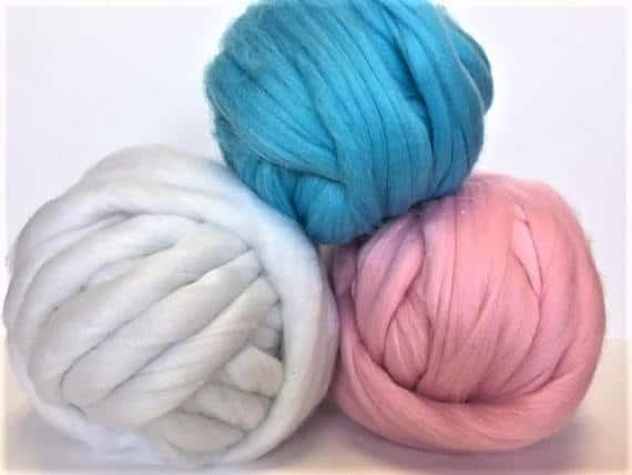 The Best Chunky Knit Yarn for an Arm Knitting Blanket