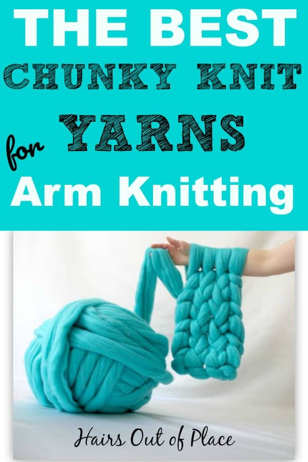 the best chunky knit yarns for arm knitting a chunky knit blanket