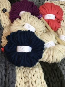Colorways Chunky knit Smoosh yarn