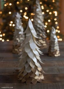 papercrafts Christmas trees