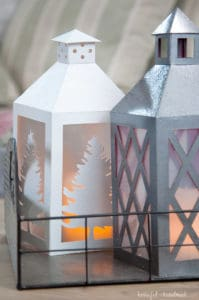 christmas paper lanterns project