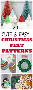 christmas felt craft patterns
