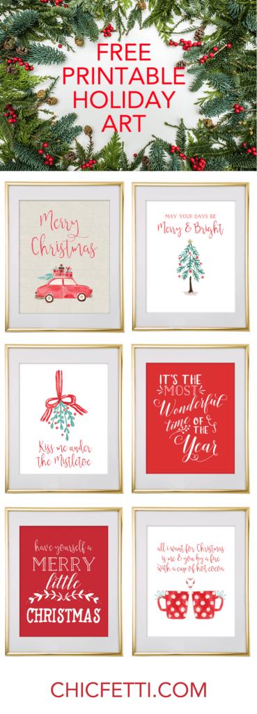 18 christmas diy home decor wall art ideas jingle all the way framed wall decor solutioingenieria Image collections