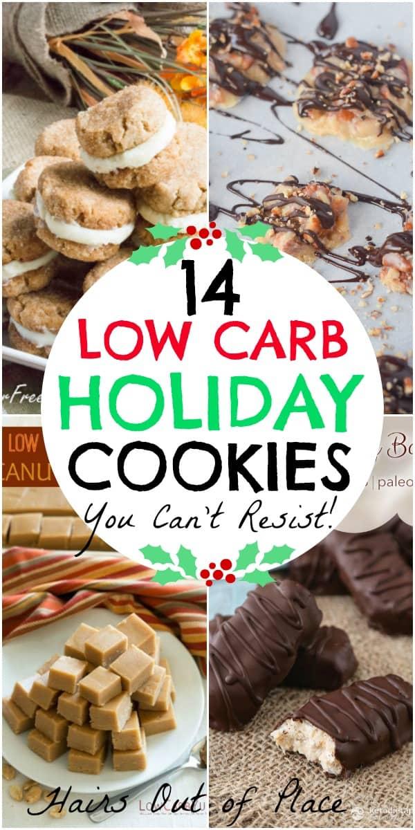 14 low carb and keto christmas cookies