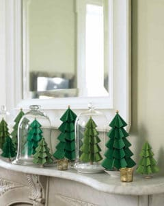 paper evergreen trees martha stewart