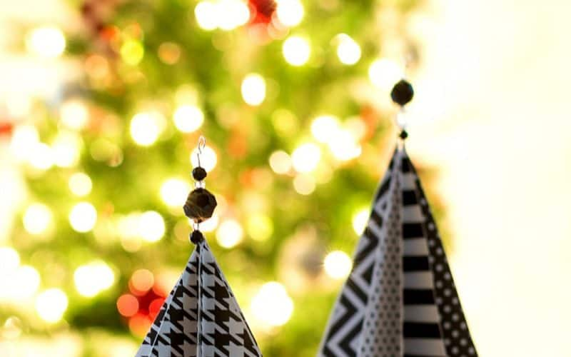 18 Easy Paper Christmas Decorations