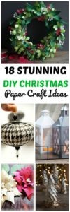 christmas papercrafts patterns