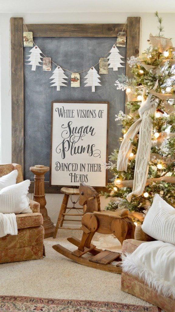 18 Christmas Diy Home Decor Wall Art Ideas