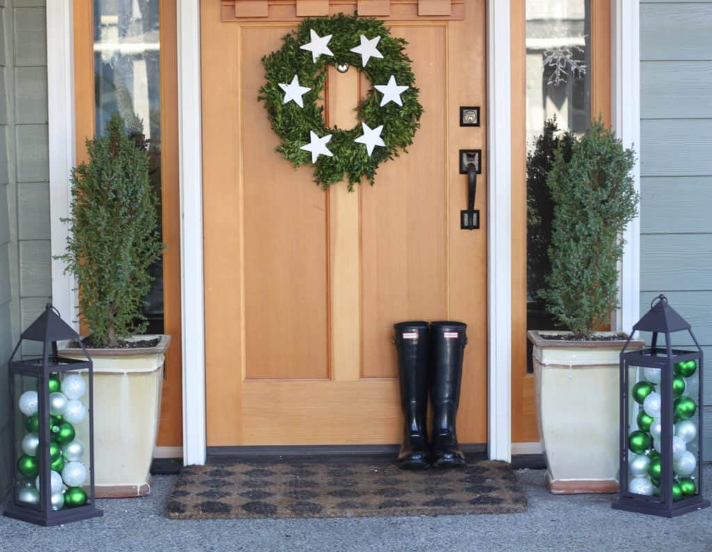scandinavian christmas diy wreath