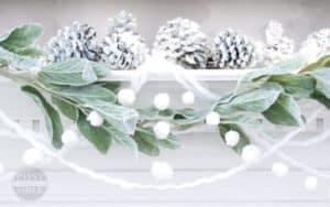 christmas pom pom garland