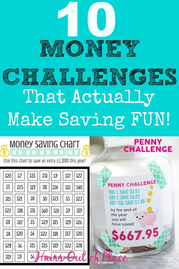 10 fun money challenge ideas