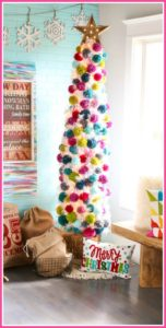 diy pom pom christmas crafts