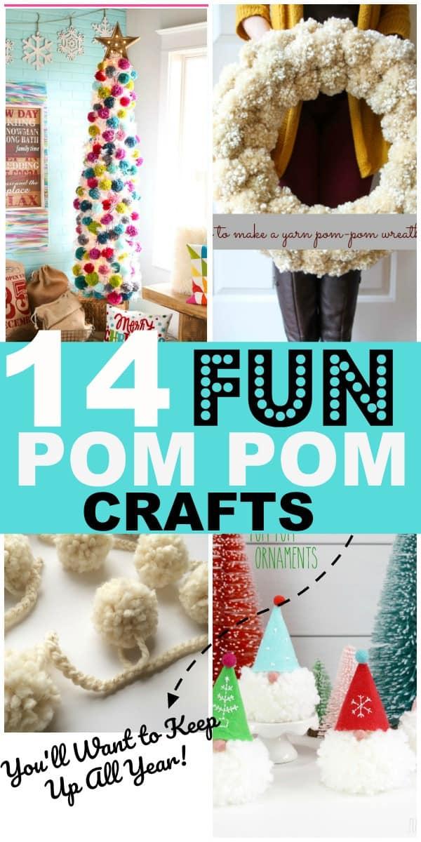 14 DIY Pom Pom Crafts