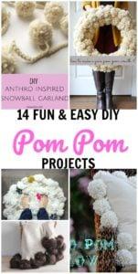 diy pom pom craft projects