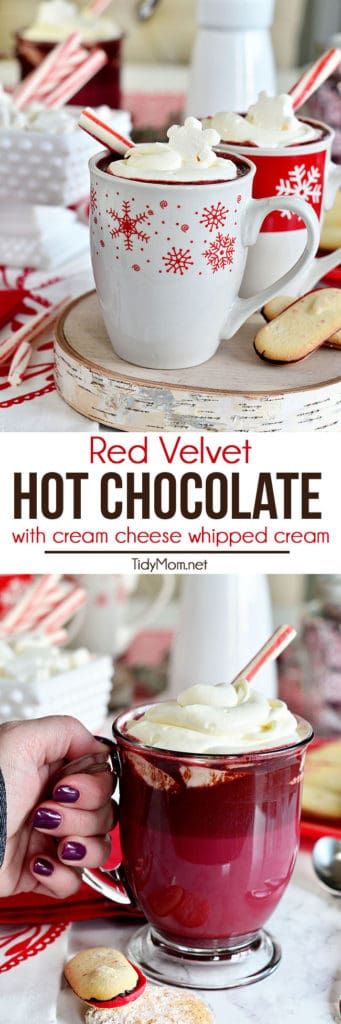 red velvet hot cocoa