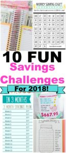 money savings challenge