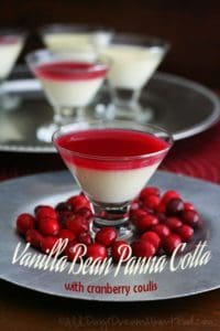 low carb vanilla panna cotta