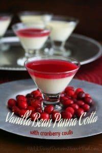 low carb vanilla panna cotta