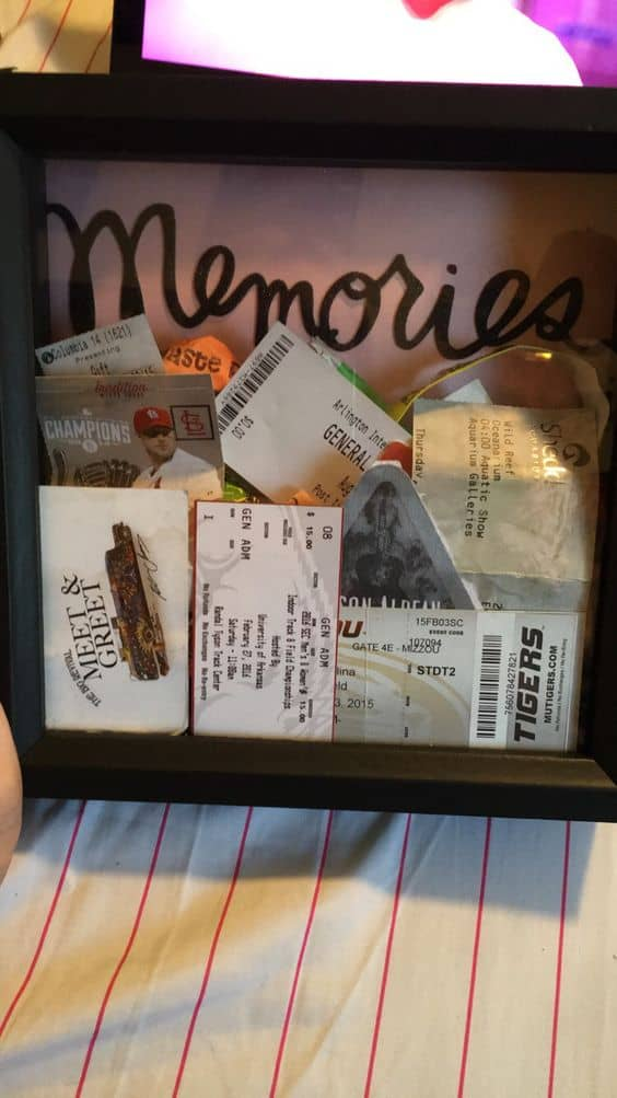 boyfriend memories box