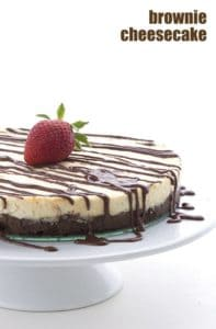 keto brownie cheesecake