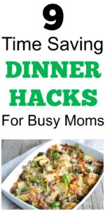 time saving dinner hacks