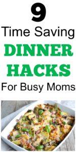 time saving dinner hacks