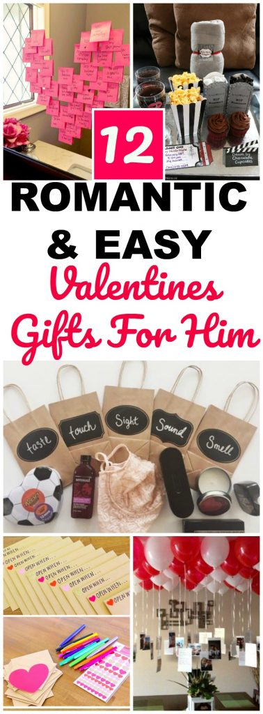easy valentines gifts for him