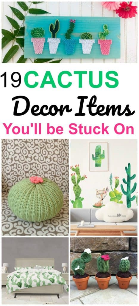decorating with cacti
