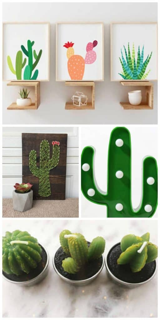 Obsessed With Cactus 19 Home Decor Items For The Cacti Lover